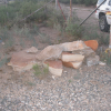 Suspects Sought After Stone Marker Destroyed