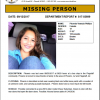 Help Find Missing Seventeen Year Old Girl