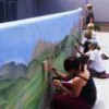 Children Paint Murals for Verde Valley Humane Society Animals