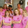 Sedona Fire Department Wears Pink Heals
