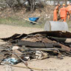 Inmates Litter and Trash Community Clean Up