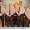 YCSO Promotes Four in April Ceremony