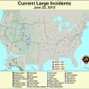 U. S. Fire Map