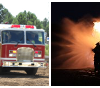 Fire Damages Residence and Travel Trailers