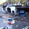 Driver Critically Injured in Snowbowl Truck Rollover
