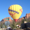 Balloon Searches for Safe Landing on Sedona Street
