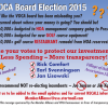 VOCA Board of Directors Candidates Announced
