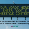 Your Turn to Write Clever Highway Safety Messages