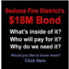 Sedona Fire District Bond Issue Vote Should Be No