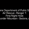 Sedona rock climber requires nighttime helicopter rescue