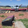 Sedona scene of morning aircraft crash