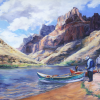 Mary Lois Brown oil paintings on exhibit at City Hall