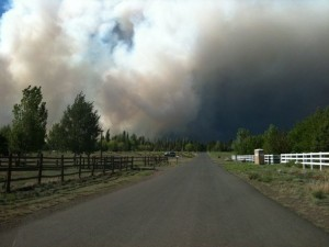 Flagstaff AZ June 20 2010 Wilfire by Sedona Times photographer, Brian Goodwin