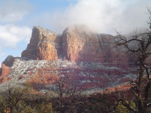 Sedona Snowfall exclusive SedonaEye.com photo by Melissa Morrison C2010