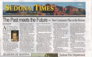 Sedona Times newspaper Publishing