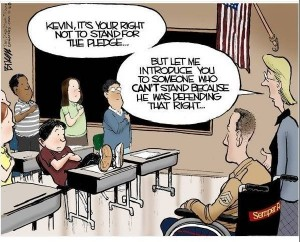 veteran humor cartoon