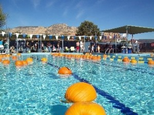 Sedona Community Pool Pumpkin Splash