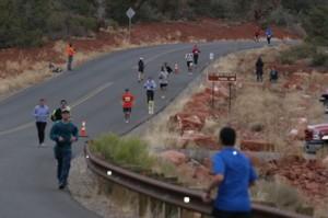 Sedona Marathon event held February 2, 2013