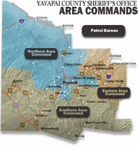 Yavapai County Map Area Commands