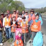 Folksville USA RVRE kids pitch in to clean Arizona highways