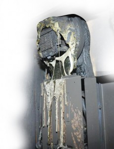 Smart Meter that caught fire after installation