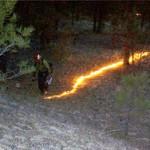 Forest prescribed burn method