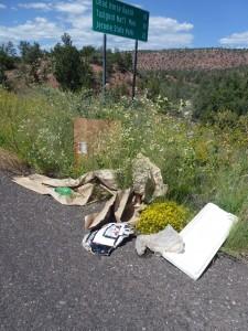 Stop littering now!