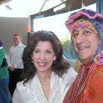 Rabbi Alicia Magal and Itzchak Magal enjoy Purim festivities