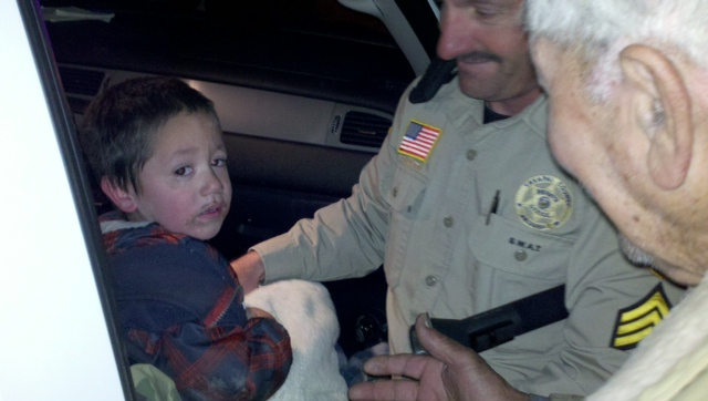 Sedona eye 187 two year old missing seligman child found