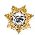 Western State Sheriff's Association Logo