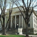 Historic Prescott AZ courthouse