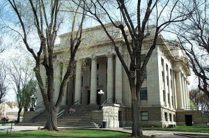 Historic Prescott AZ courthouse