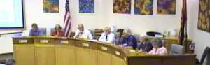 Sedona City Council in session