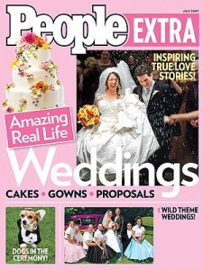 People magazine wedding cake winner