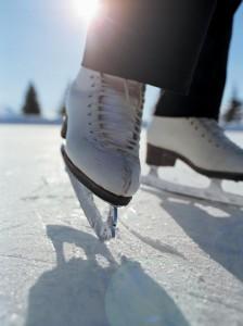 ice skates rink