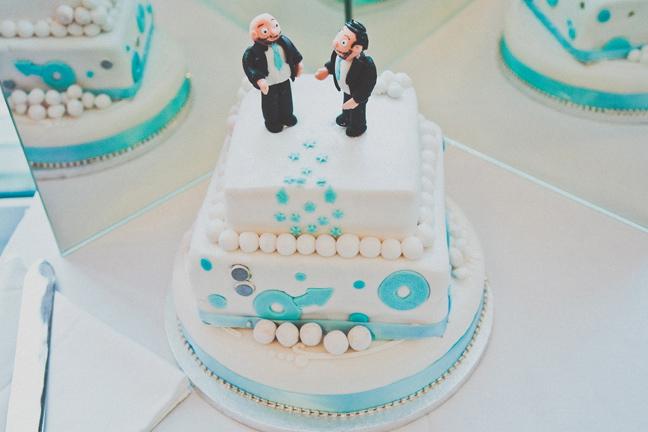 Sedona Eye Wedding Cake Men Gay