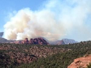 Exclusive SedonaEye.com Fay Canyon wildfire photos July 20 2014
