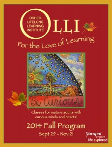 OLLI Fall Cover Revised