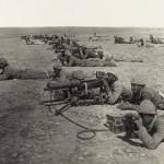 Ottoman machine gun corps at Gaza