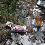 Arizona Verde Valley highway litter