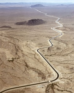 Colorado river canal delivers Arizona water