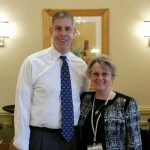 Arne Duncan and Diane Douglas confer on issues facing Arizona school system