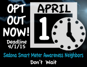 Sedona smart meter opt out logo