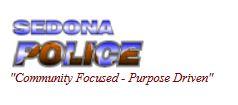sedona police logo