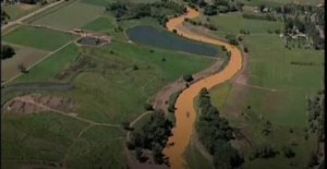 Animas River in Colorado was polluted by an EPA leak