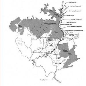 national monument boundary map black