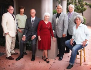 Sedona City Council woman Angela LeFevre, second left, unexpectedly resigned from office leaving Council to appoint a new member until the November 2016 election.