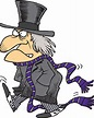 Ebenezer Scrooge is a bitter old miser who is transformed as the main character in Dickens' 1843 Christmas novella.