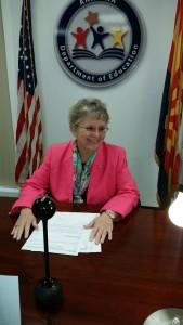 AZ School Superintendent Diane Douglas