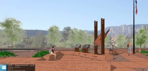 Sedona 9-11 Memorial groundbreaking is scheduled for June 1, 2016